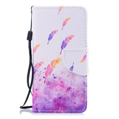 Color Painting Flip Wallet Cover voor iPhone 7/8 telefoonhoes