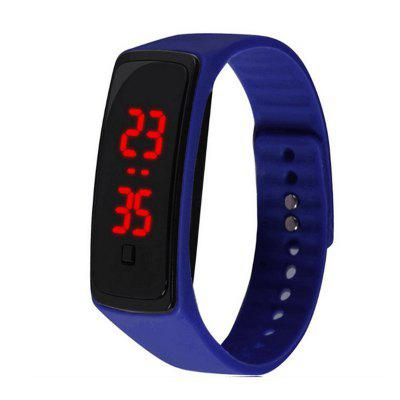 Simple Silicone LED Children's Wrist Watch