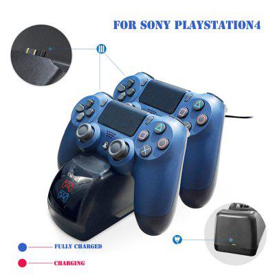 LED Light indicator Dual Charger Dock For Sony PlayStation 4 Controller Gamepad