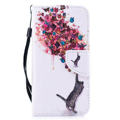 Luxury Style PU Leather Flip Wallet Case for Samsung Galaxy S6 Edge