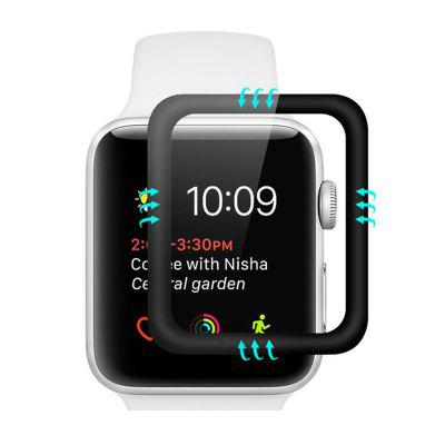 3D Curved Full Cover Закаленное стекло для Apple Watch 3 2 1 4 38mm 42mm 40mm 44mm
