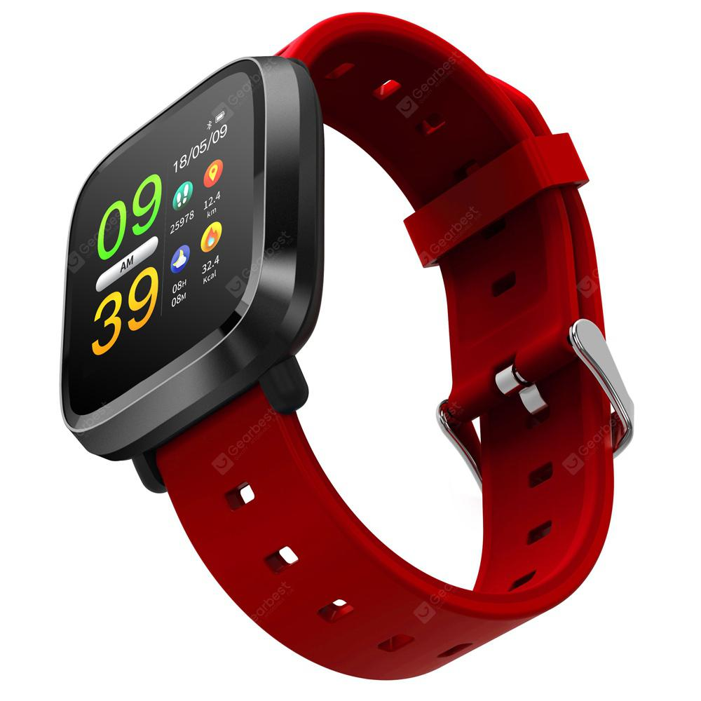 Y8 Color Screen Heart Rate Smart Watch Bluetooth Calls Reminder Sleep  Monitor