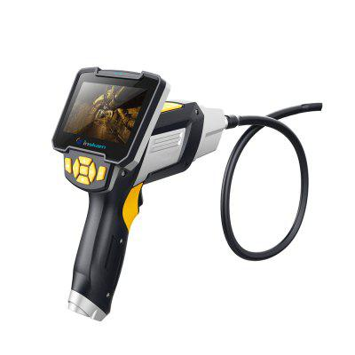 LCD Industrial Endoscope Portable Digital Wireless Recordable Video Borescope