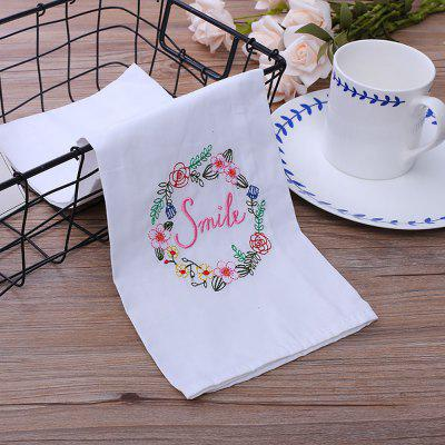 Embroider Mouth Cloth Jacquard Napkin Cloth Art Eat Mat