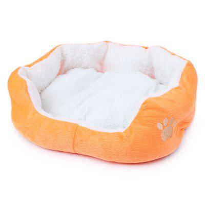 Lamb Kennel Teddy Bear Can Remove and Wash Pet Kennel MATS