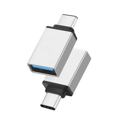 USB C 3.1 Type-C Male to USB Female OTG Adapter Converter