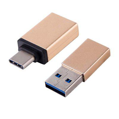 USB 3.0 Female to USB 3.1 Type-C+USB 3.1 Type-C Female to USB 3.0 Male Converter