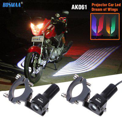 LED Motorcycle  Angel Wings Laser Bulb Auto Car Door Light