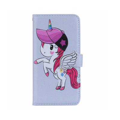 Yeshold voor Samsung S9 Stereo Angel Clasp Unicorn Mirror Protective Cover