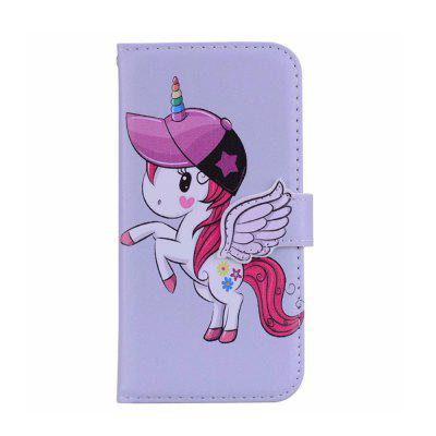 Yeshold for iPhone 6/6S 4.7 Stereoscopic Angel Buckle Unicorn Mirror Phone Prot