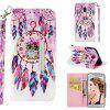 PU Leather Material Painted Mobile Phone Case for Samsung Galaxy J4 2018 - MULTI-D