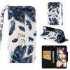 PU Leather Material Painted Mobile Phone Case for Samsung Galaxy J6 2018 - MULTI-G