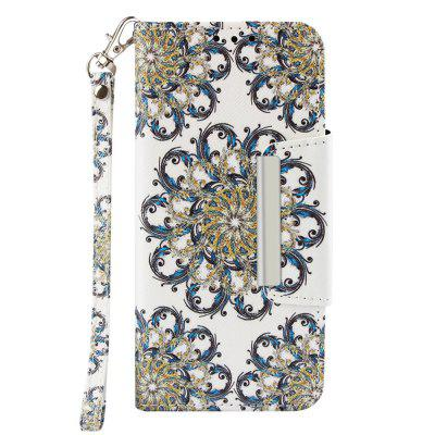 PU Leather Material Painted Mobile Phone Case for Samsung Galaxy J4 Plus