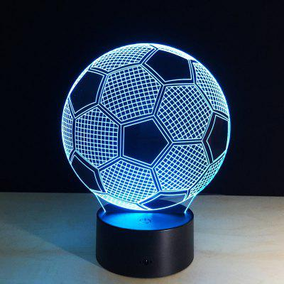 Creative Ball 3D LED Lamp Night Light Multicolor RGB Bulb Decor Gift Toys