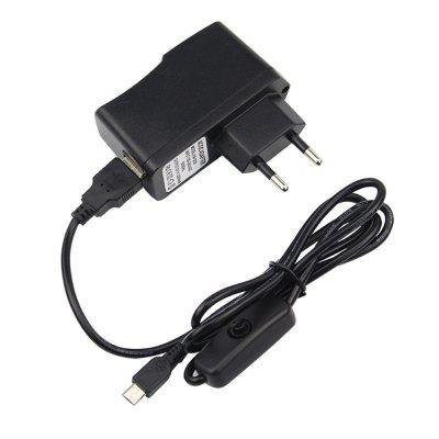 Raspberry Pi 3 Model B+ 5V 2.5A Power Charger Adapter Supply
