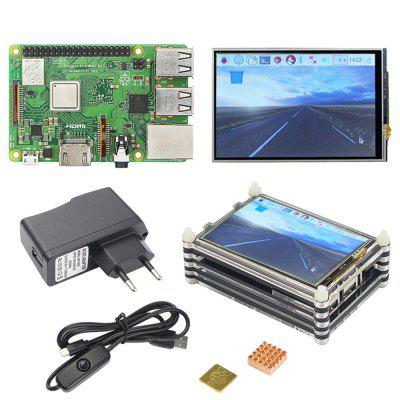 Creative Raspberry Pi 3 Model B Starter Complete Kits with 3.5 Inch Display