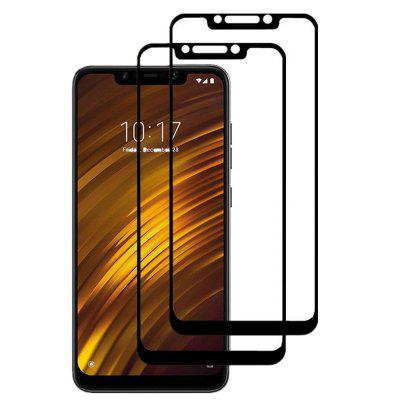 Vetro temperato Full Cover 2PC 3D per Xiaomi PocoPhone F1 HD