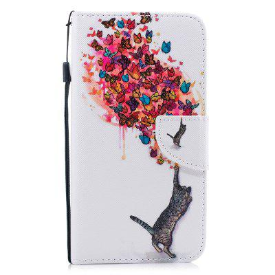 Color Painting Flip Wallet Cover voor iPhone XS Max telefoonhoes