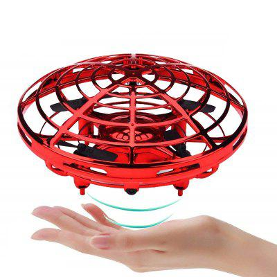 Creative Mini Induction UFO Aircraft Gravity Hand-Controlled Suspension Toy
