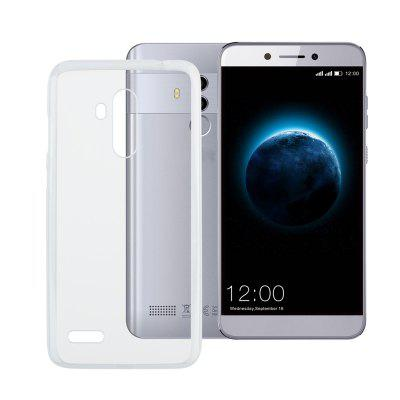 White Transparent Silicone Case for LEAGOO T8s
