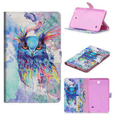 PU Leather Flip Wallet Stand Case for Samsung Galaxy Tab 4 7.0 T230 T231 T235