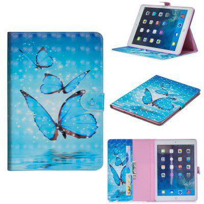 3D Cartoon PU Leather Flip Wallet Stand Case for iPad 9.7 2017 2018
