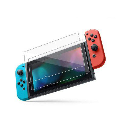 2 stks 9H Gehard Screen Protector Film voor Nintendo Switch