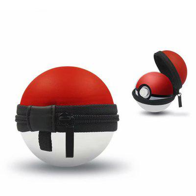 Storage Bag Carrying Case Cover for Nintendo Switch Poke Ball Plus Controller