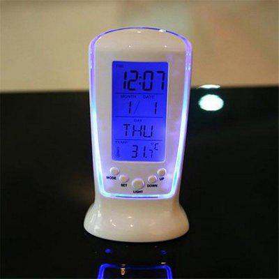 Music Lighting Calendar Clocks Digital Luminous Clock Desk Bedside Temperature