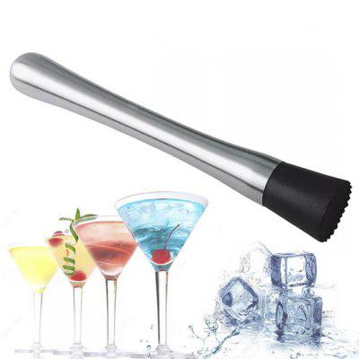 Ice Crusher Stick Diy Drink Fruit Puree Stainless Steel Crushed Ice Wine