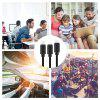 3 in 1 Sync Cable Charger Fast for Micro / Type C / 8 Pin Usb Cable - BLACK