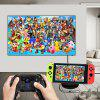 TV Converter Charging Dock For Nintendos Switch Gamepad Console With PCB Board - BLACK