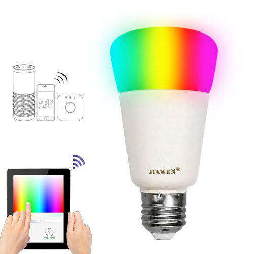 JIAWEN E27 9W Smart RGB Bulb Wireless