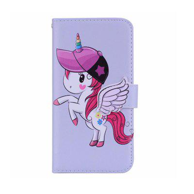 Yeshold pour iPhone 7Plus / 8Plus Ange Boucle Licorne Miroir Phone Prot