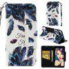 PU Leather Material Painted Pattern Phone Case for Xiaomi Redmi 6 - MULTI-G