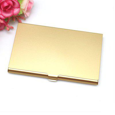 Aluminum Alloy Business Card Box