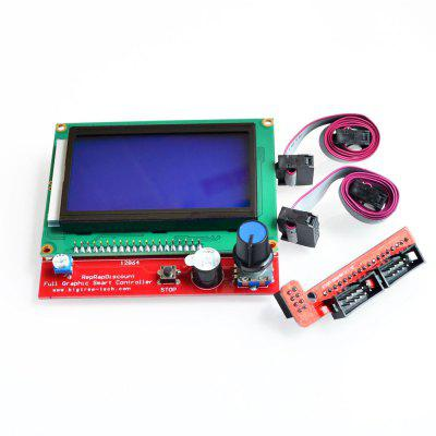 3D-Drucker Smart Controller RAMPS1.4 LCD 12864 LCD-Bedienfeld