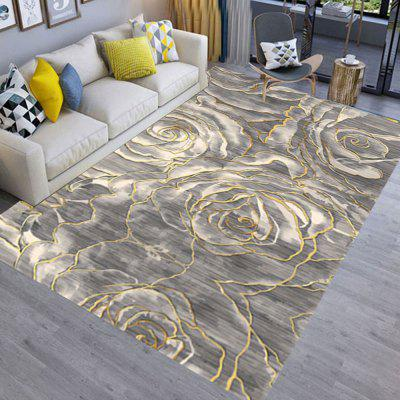Floor Mat 3D Flower Pattern Home Living  Room  Mat