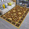 Living  Room  Floor Mat Modern Simple Classic Flowers Pattern Soft Floor Mat - MULTI-A