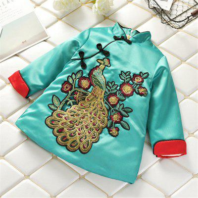 2019 Chinese Style New Year Costume Girls Dress Ethnic Style