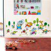 Animal Marathon Children'S Room Wall Sticker - MULTI-A