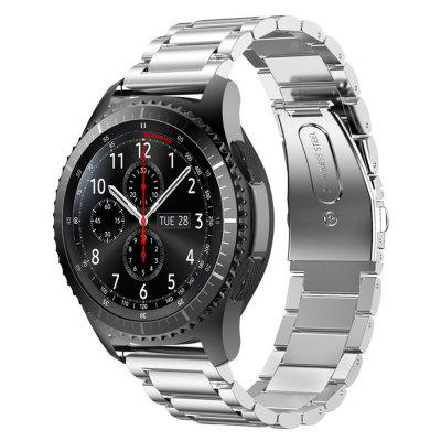 Stainless Steel Clasp Wrist Watch Band For Samsung Gear S4 20MM