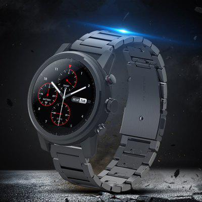 Stainless Steel Clasp Wrist Watch Band Strap For Huami Amazfit Stratos 2