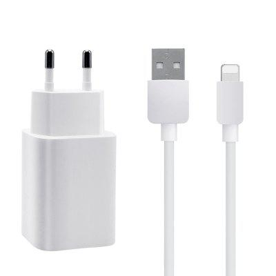 Ice-bingo Adapter Set  EU Wall Charger Fast  With 1M 8 Pin  USB Data Cable