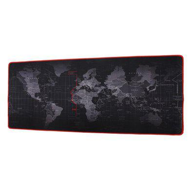 Minismile 2mm AntiSlip World Map Speed Game Mouse Pad Gaming Mat Office Supplies