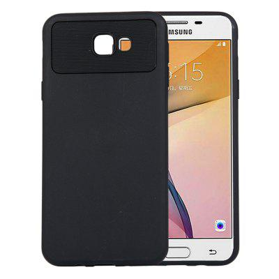 per Samsung J5 Prime / On5 2016 Cover posteriore in TPU antiurto in fibra di carbonio