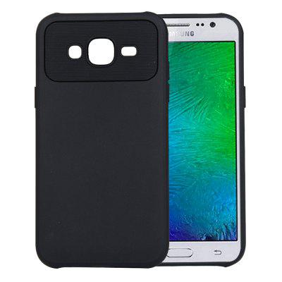 for Samsung Galaxy J5 2015 J500 Case Carbon Fiber Shockproof TPU Back Cover