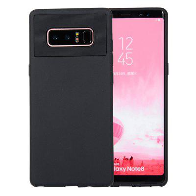 for Samsung Galaxy Note 8 / N950F Case Carbon Fiber Shockproof TPU Back Cover