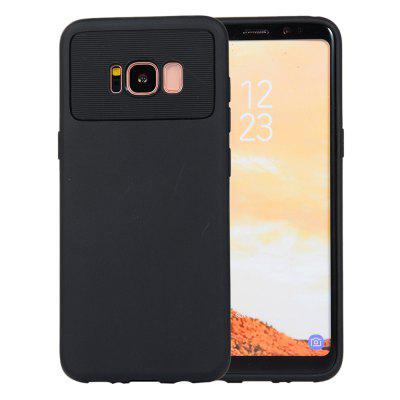 for Samsung Galaxy S8 / G950F Case Carbon Fiber Shockproof TPU Back Cover