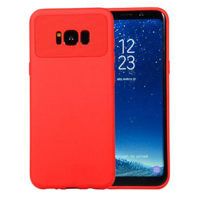 for Samsung Galaxy S8 Plus / G955F Case Carbon Fiber Shockproof TPU Back Cover
